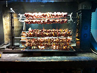 Carne allo spiedo