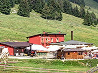 View of the Val Formica Hut