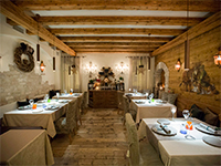 Gourmet Stube restaurant of Asiago