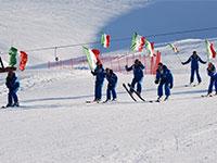 maestri scuola sci larici val formica tricolore