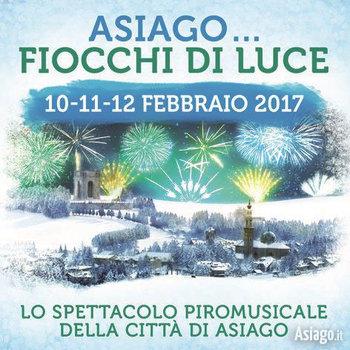 Asiago FIOCCHI DI LUCE 2017 - Rassegna piromusicale Città di Asiago, 10-11-12 febbraio 2017