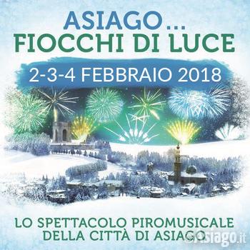 ASIAGO FIOCCHI DI LUCE 2018 - Rassegna piromusicale Città di Asiago - Dal 2 al 4 febbraio 2018