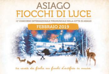 ASIAGO FIOCCHI DI LUCE 2019 - Rassegna piromusicale Città di Asiago | 15-16-17 febbraio 2019