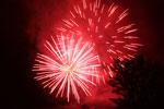 Lichterprozession Delle Contrade und Feuerwerk in Conco, 1. Januar 2014