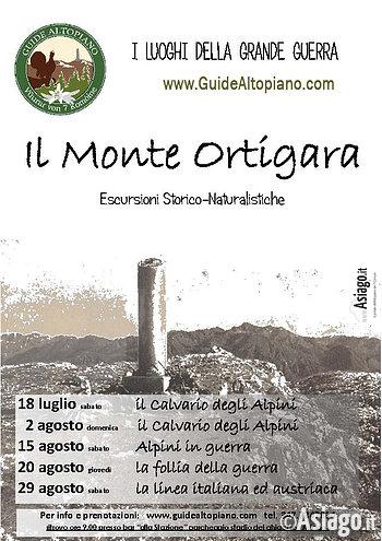 Historische Führungen Monte Ortigara-Highland Guides