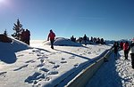 Starke Caicedo: Schneeschuh-Touren-Führer Plateau-9 Januar 2015