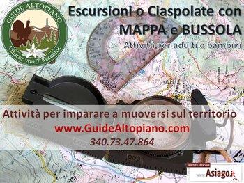 Mappa e Bussola - Escursioni Topografiche GUIDE ALTOPIANO di Asiago 7 Comuni