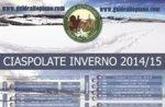 GEFÜHRTE Touren mit Schneeschuhen führt 2015 Winter ASIAGO Hochebene
