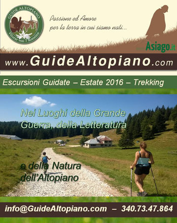 ESCURSIONI/TREKKING - VISITE GUIDATE Estate 2016 GUIDE ALTOPIANO