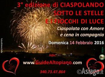 3 edizione ciaspolata stelle e fiocchi con guide for Baita asiago capodanno