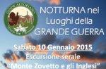 Ciaspolata/Escur Guidata Storica Guide Altopiano Monte Zovetto 10 gennaio SERALE