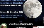 Plateau-Nacht: Monte Verena mit Hilfslinien Plateau-Dezember 12 Abend