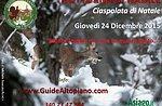 Weihnachtsnacht: Berg Zovetto Schneeschuhwandern mit abendlicher 24 Dezember GuideAltopian