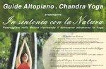 """In SINTONIA con la NATURA con GUIDE ALTOPIANO e CHANDRA YOGA """"Alba e Tramonto"""""""