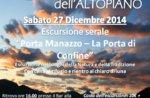"Schneeschuh-Wanderung ""Manazzo Port"" mit Guide-27 Dezember Abend Plateau"