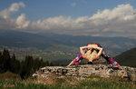 LASSEN Sie sich von der Natur inspirieren: Monte Erio: Spaziergang mit Yoga im Sunset6 August 2016