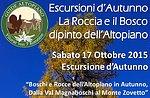 Holz und Stein: Ausflug Plätze der Natur mit GuideAltopiano 17 Oktober