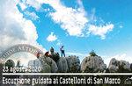 CASTELLONI OF SAN MARCO das Felsenlabyrinth, geführte Exkursion 23. August 2020