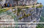 MONTE CENGIO: Weg des Granatieri - Ausflug - 8. November 2020