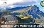 CIMA MANDRIOLO con ORTOVOX, escursione guidata, 18/07/2020