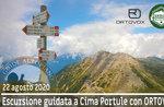 CIMA PORTULE con ORTOVOX, escursione guidata, 22 agosto 2020