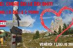 5 TORRI: CUORE DOLOMITI: Trekking in Dolomiti con GUIDE ALTOPIANO 7 luglio 2017