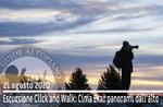KLICK UND WALK von Cima Ekar Landschaften, Wanderung 21. August 2020