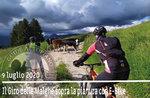 GIRO DELLE MALGHE sopra la pianura in E-BIKE , 9 luglio 2020