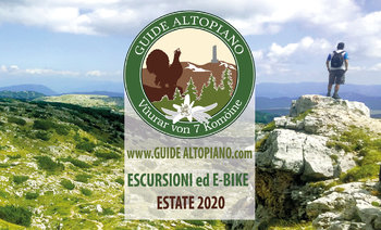 ESCURSIONI e TREKKING  Visite Guidate -  ESTATE 2020 - GUIDE ALTOPIANO Asiago 7C