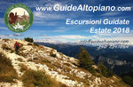 ESCURSIONI e TREKKING - Visite Guidate -  ESTATE 2018 - GUIDE ALTOPIANO Asiago7C