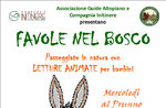 FAVOLE nel BOSCO: Letture Animate MADE in MALGA con GUIDE ALTOPIANO 2018