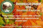 SAPORI e COLORI delle Contrade: Visita Guidata GUIDE ALTOPIANO 23 ottobre 2016