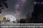 SNOWSHOEING WINTER STARS AT CAMPOLONGO FORT, 9. Januar 2021
