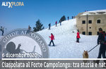 SNOWSHOEING DRIVEN TO CAMPOLONGO FORT, 6. Dezember 2020