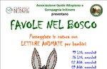 FAVOLE nel BOSCO: Letture Animate con GUIDE ALTOPIANO il 19 luglio 2017