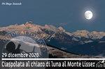 SNOWSHOEING IN THE MOONLIGHT TOWARDS MOUNT LISSER, 29. Dezember 2020