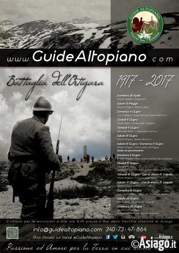 MONTE ORTIGARA:Trekking BATTAGLIA ORTIGARA - con GUIDE ALTOPIANO Il Centenario