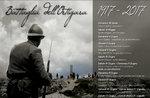 MONTE ORTIGARA: Trek Schlacht ORTIGARA-Hundertjahrfeier PLATEAU führt