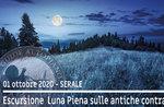 LUNA PIENA ON THE ANTICHE CONTRADE geführte Exkursion, 1. Oktober 2020 SERA