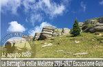 SCHLACHT DER MELETTE: 1916-1917 - geführte Wanderung , 12. August 2020