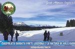 Ciaspolata oder Ausflug nach FORTE Luserna und Millegrobbe,14. März 2020