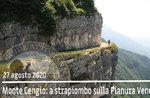 MONTE CENGIO überderhängen der Venetien-Tiefebene, Wanderung 27. August 2020