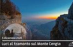 MONTE CENGIO, ESCURSIONE AL TRAMONTO, 5 dicembre 2020