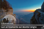 MONTE CENGIO, SUNSET EXCURSION, December 5, 2020