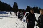 STARKE CAICEDO: Geführte Schneeschuh-Wanderung mit Führer Plateau-5 Januar 2018