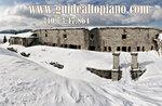 MONTE LISSER: Blick Osten geführte Schneeschuh-Wanderung mit Führer Plateau-7 Januar 2018