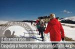 SNOWSHOEING AT MOUNT ONGARA, 5. Dezember 2020