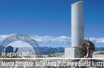 MONTE ORTIGARA: von der italienischen zur österreichischen Linie, 16. August 2020