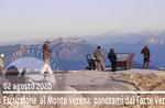 MONTE VERENA: 2000m Aussicht vom Fort, geführte Wanderung, 2. August 2020