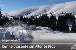 SNOWSHOEING DRIVEN ON MOUNT FIOR, 10. Januar 2021